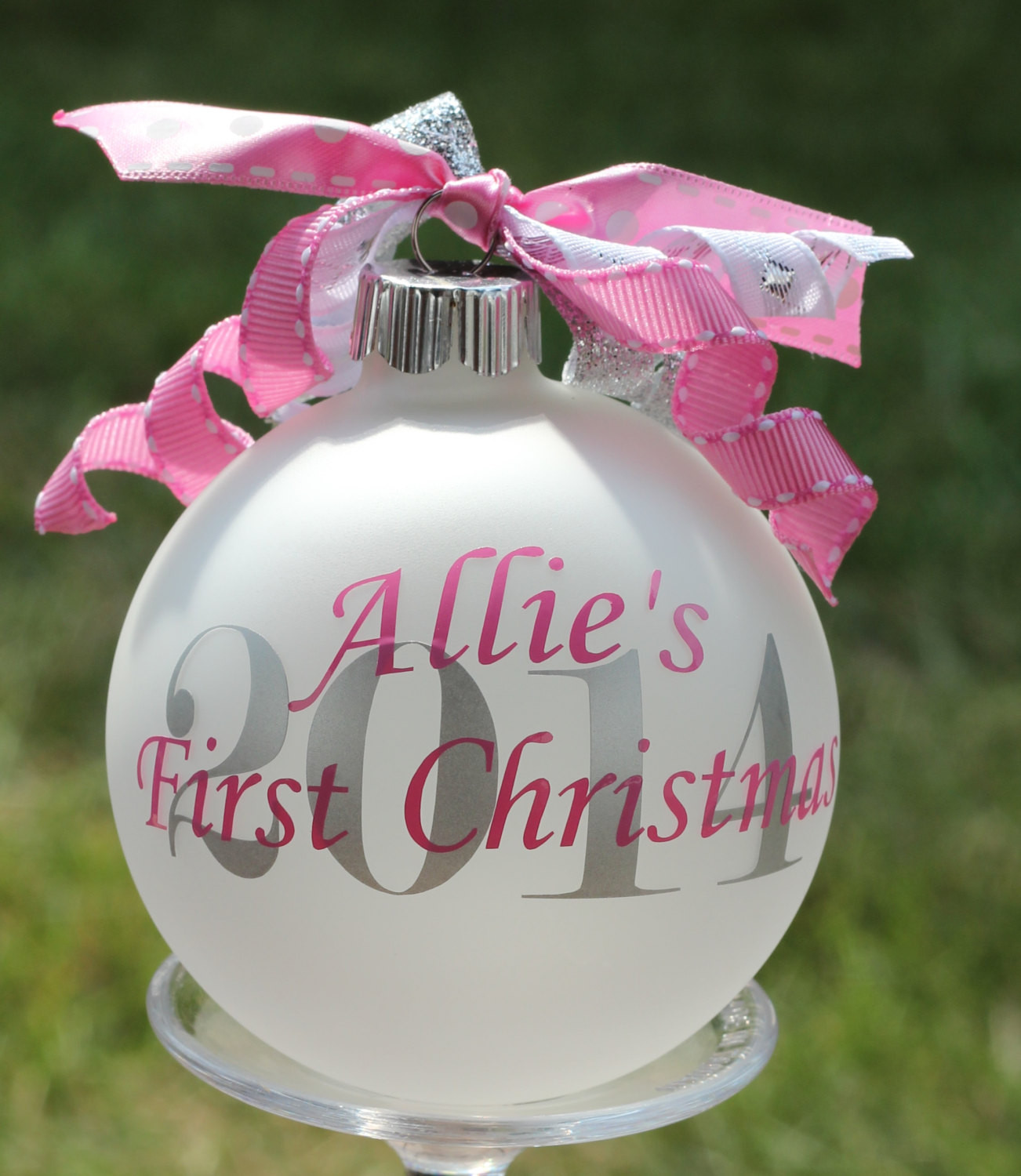 Best ideas about DIY Baby Christmas Ornaments . Save or Pin Baby s First Christmas Ornament 2016 Personalized First Now.