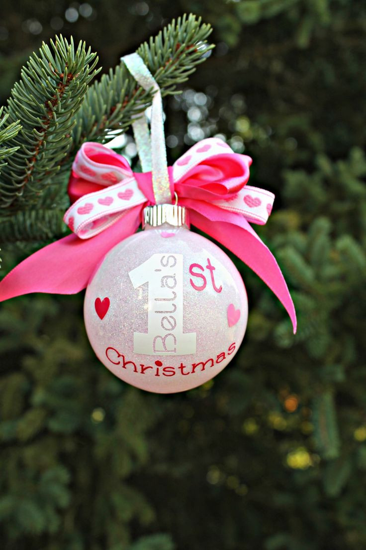 Best ideas about DIY Baby Christmas Ornaments . Save or Pin Best 25 Baby first christmas ornament ideas on Pinterest Now.