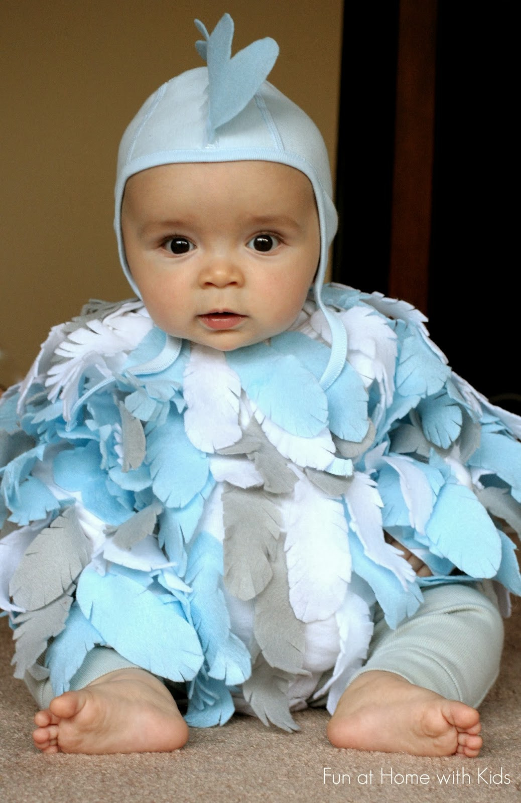Best ideas about DIY Baby Costume . Save or Pin DIY No Sew Baby Chicken Halloween Costume Now.
