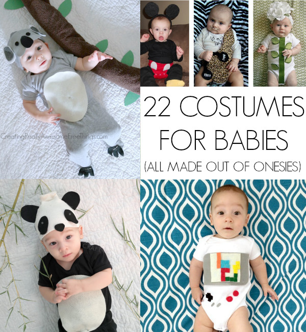 Best ideas about DIY Baby Costume . Save or Pin Homemade Halloween Costumes for babies C R A F T Now.