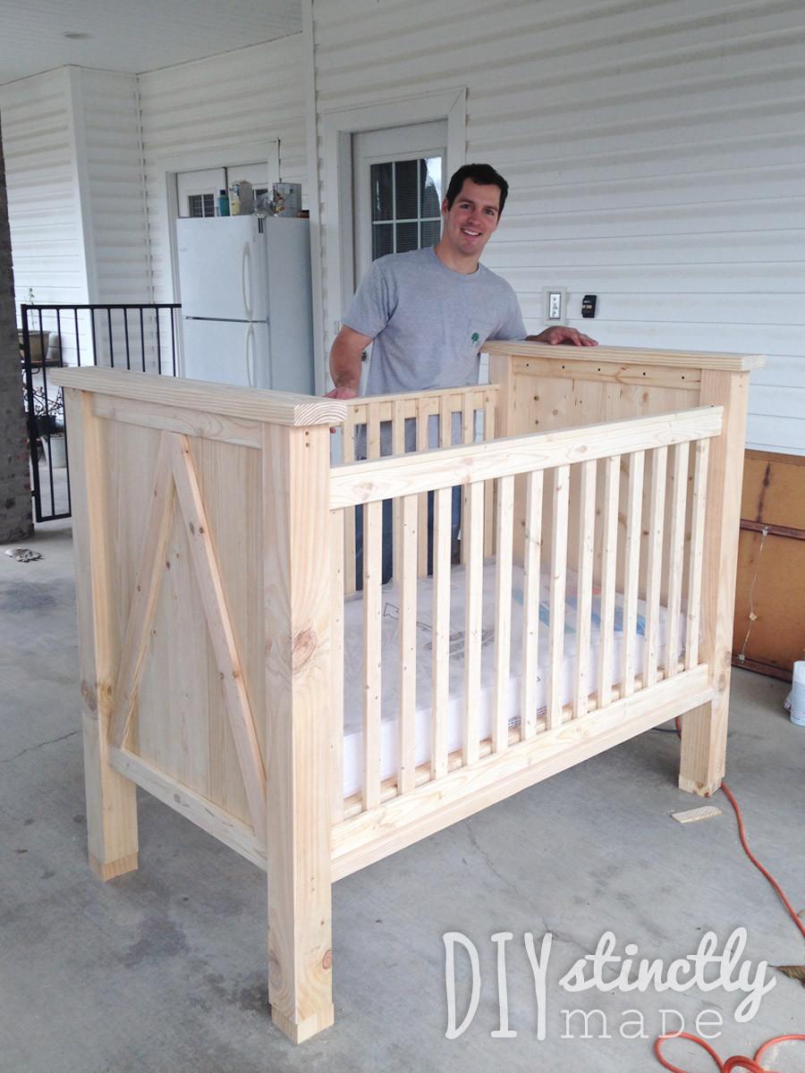 Best ideas about DIY Baby Crib . Save or Pin DIY Crib – DIYstinctly Made Now.