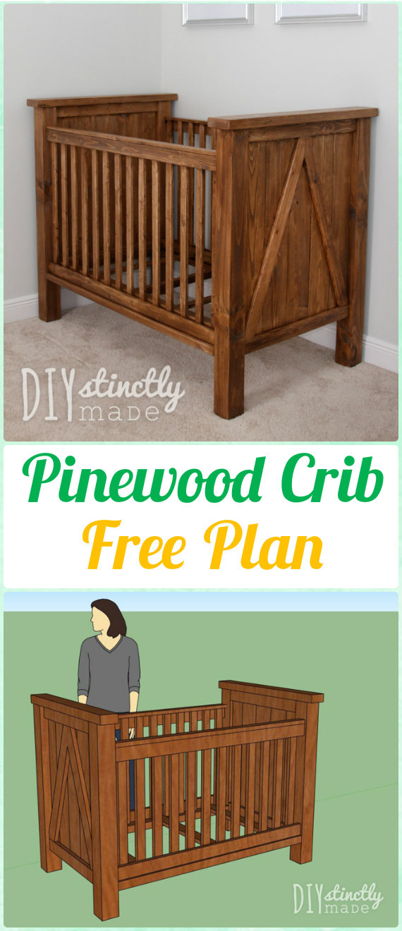 Best ideas about DIY Baby Crib . Save or Pin DIY Baby Crib Projects Free Plans & Instructions Now.