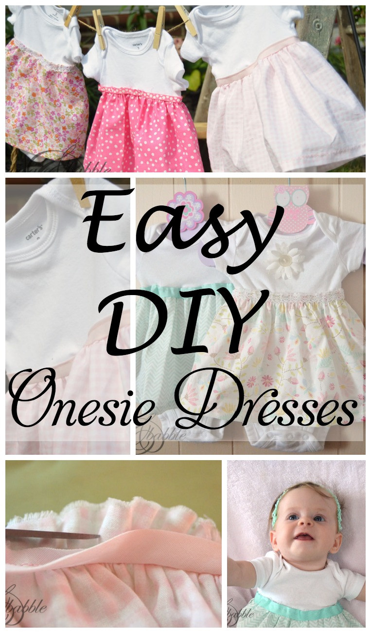 Best ideas about DIY Baby Dresses . Save or Pin DIY esie Dresses Create and Babble Now.
