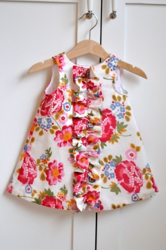 Best ideas about DIY Baby Dresses . Save or Pin baby dress diy bebes Now.