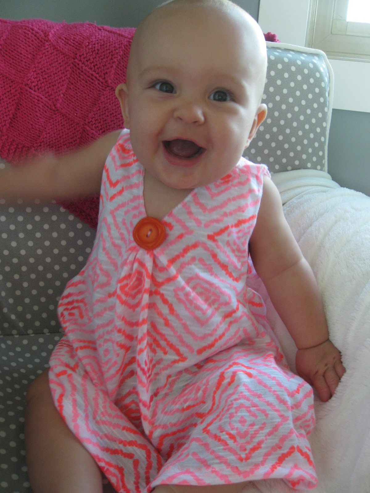 Best ideas about DIY Baby Dresses . Save or Pin crazily normal DIY Baby Dress Now.