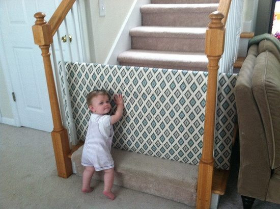 Best ideas about DIY Baby Fence . Save or Pin Homemade Baby Gate Now.