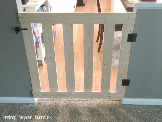 Best ideas about DIY Baby Fence . Save or Pin 10 Minute DIY Baby Pet Gate Now.