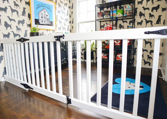 Best ideas about DIY Baby Fence . Save or Pin DIY An Extra Wide Gate pets Now.