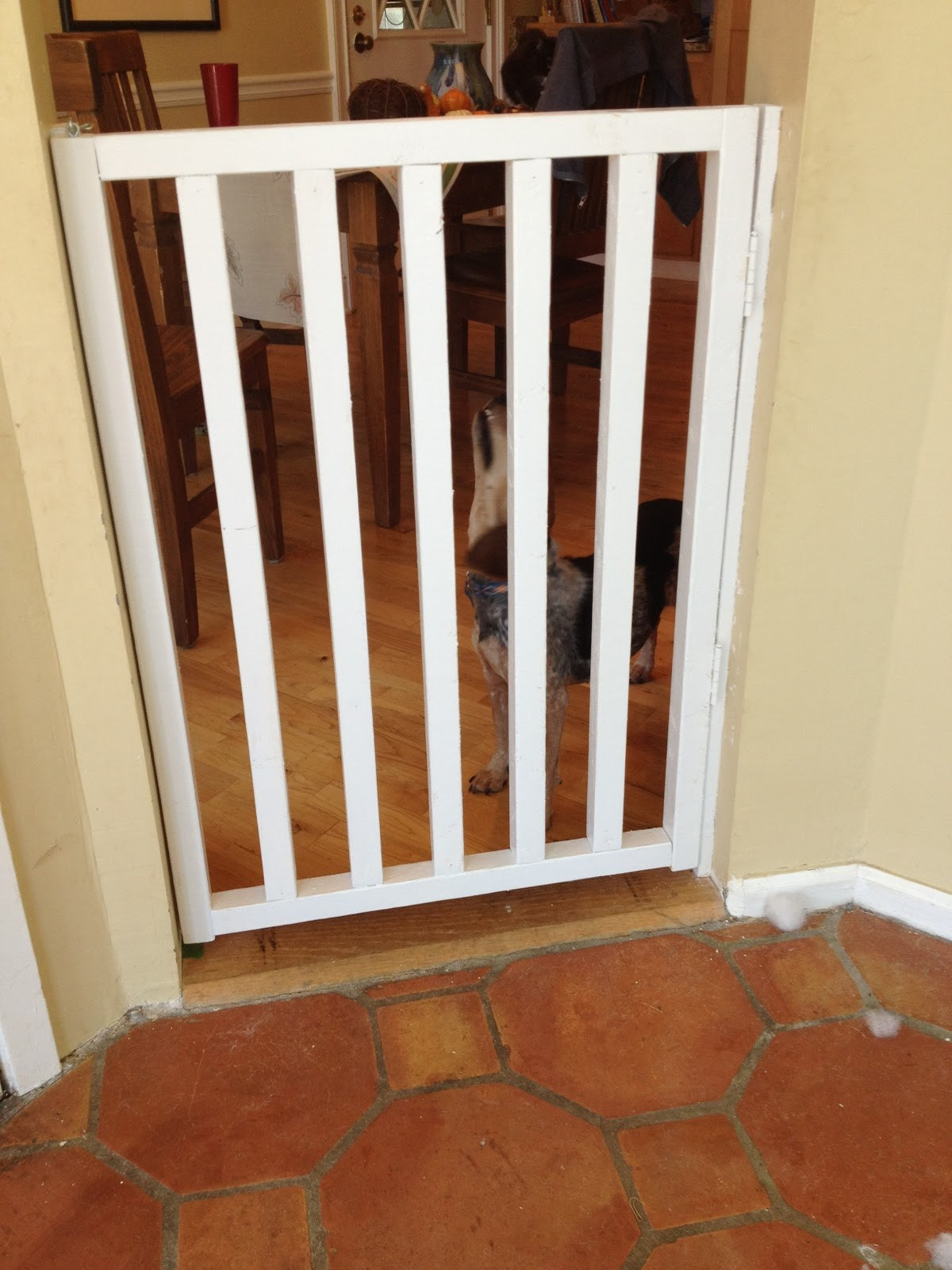 Best ideas about DIY Baby Fence . Save or Pin Weekend project 2 revealed DIY wooden baby gate Now.
