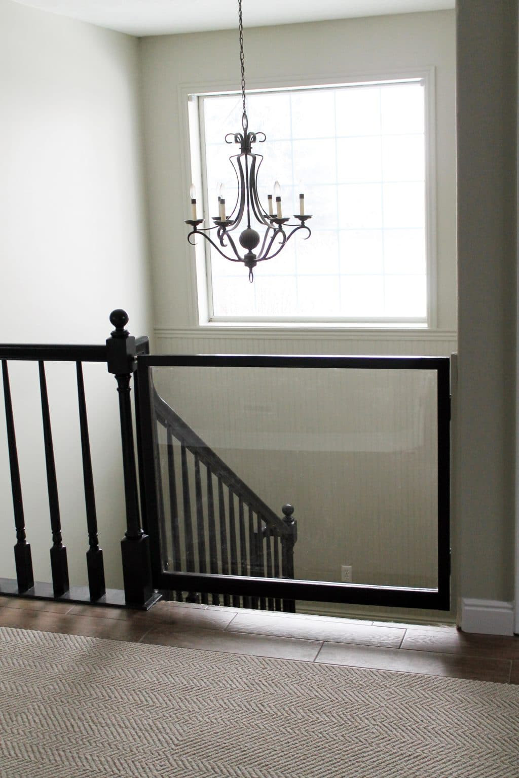 Best ideas about DIY Baby Gate For Stairs . Save or Pin A DIY Baby Gate Chris Loves Julia Now.