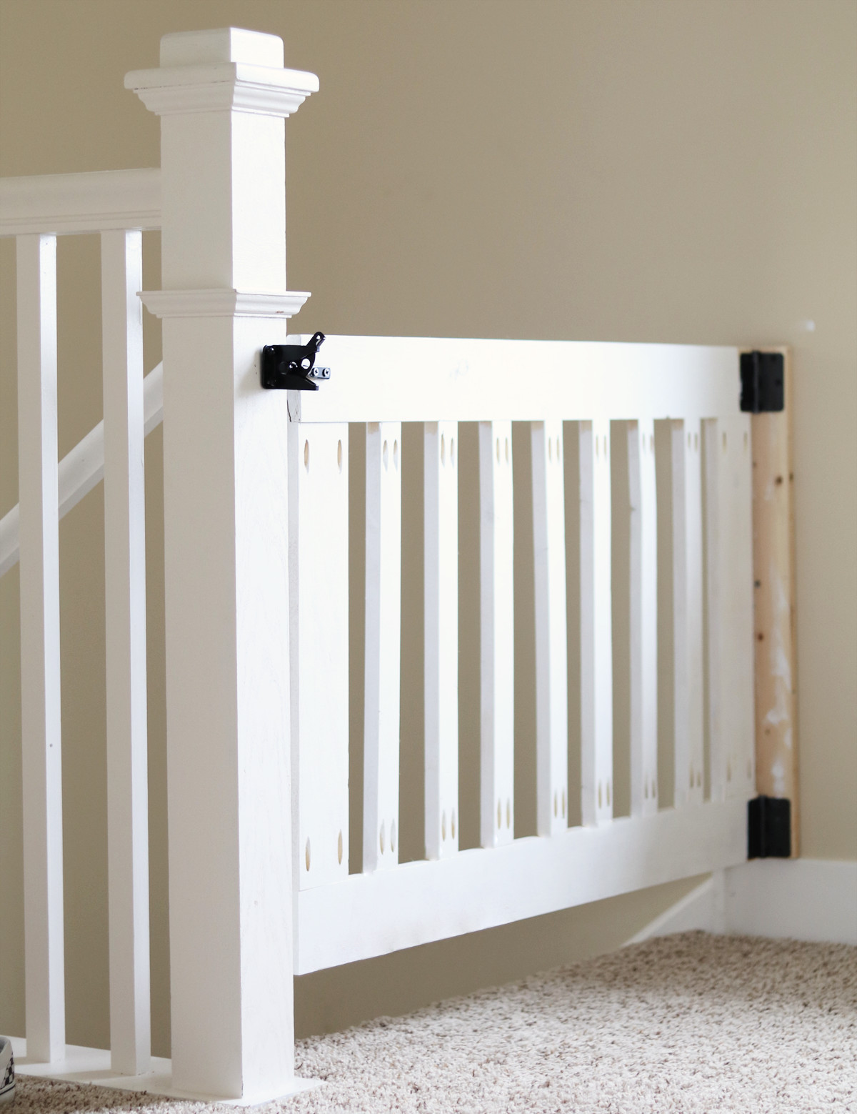Best ideas about DIY Baby Gate For Stairs . Save or Pin DIY Baby Gate – The Love Notes Blog Now.