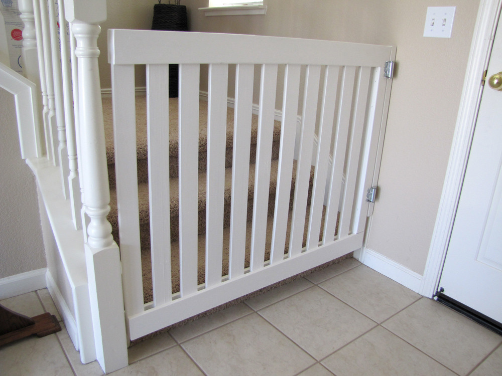 Best ideas about DIY Baby Gate For Stairs . Save or Pin Baby Gate – The Baby Akers Blog Now.