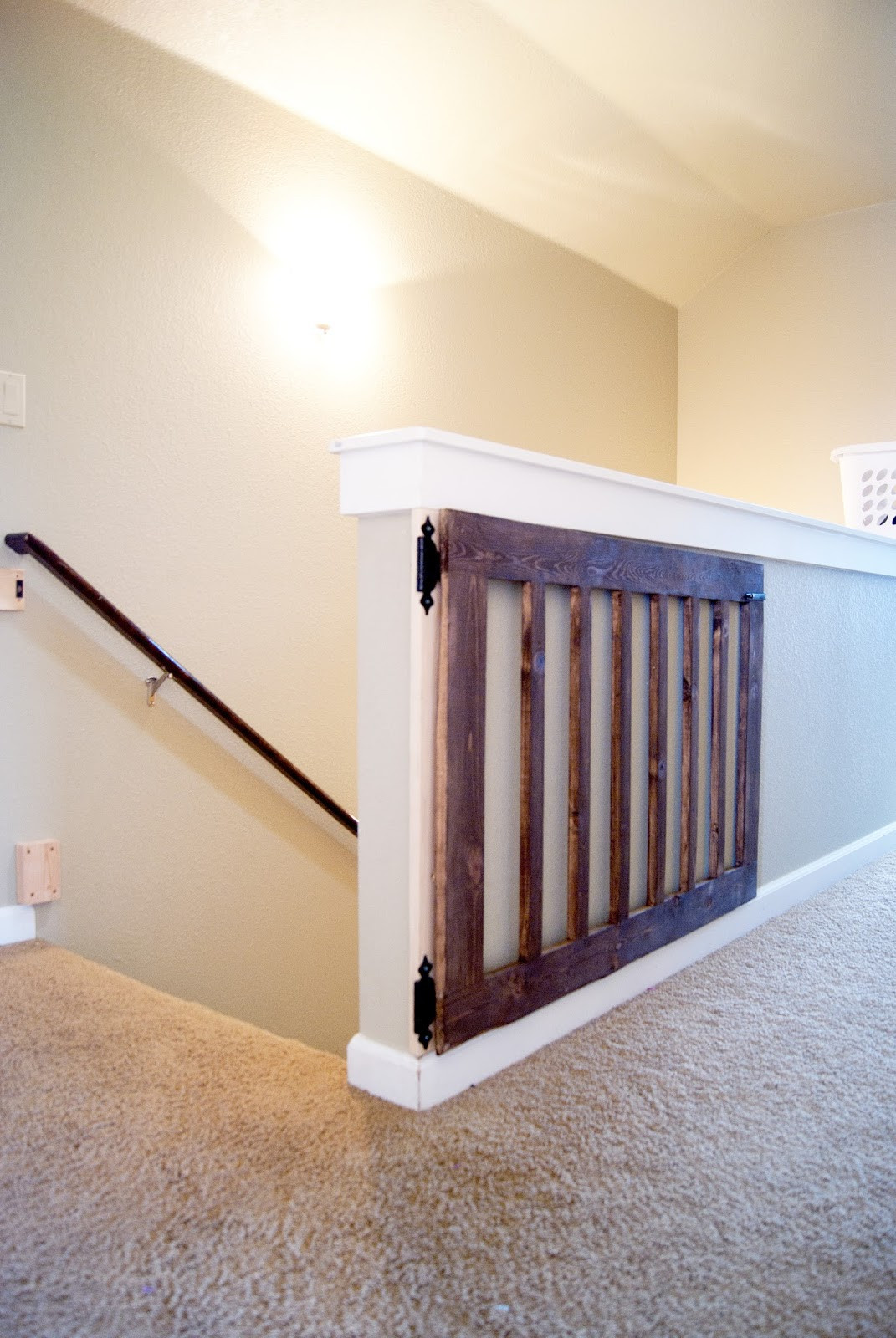 Best ideas about DIY Baby Gate For Stairs . Save or Pin Custom Baby Gate Now.