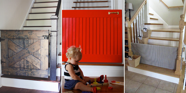 Best ideas about DIY Baby Gate For Stairs . Save or Pin 10 DIY Baby Gates for Stairs Now.