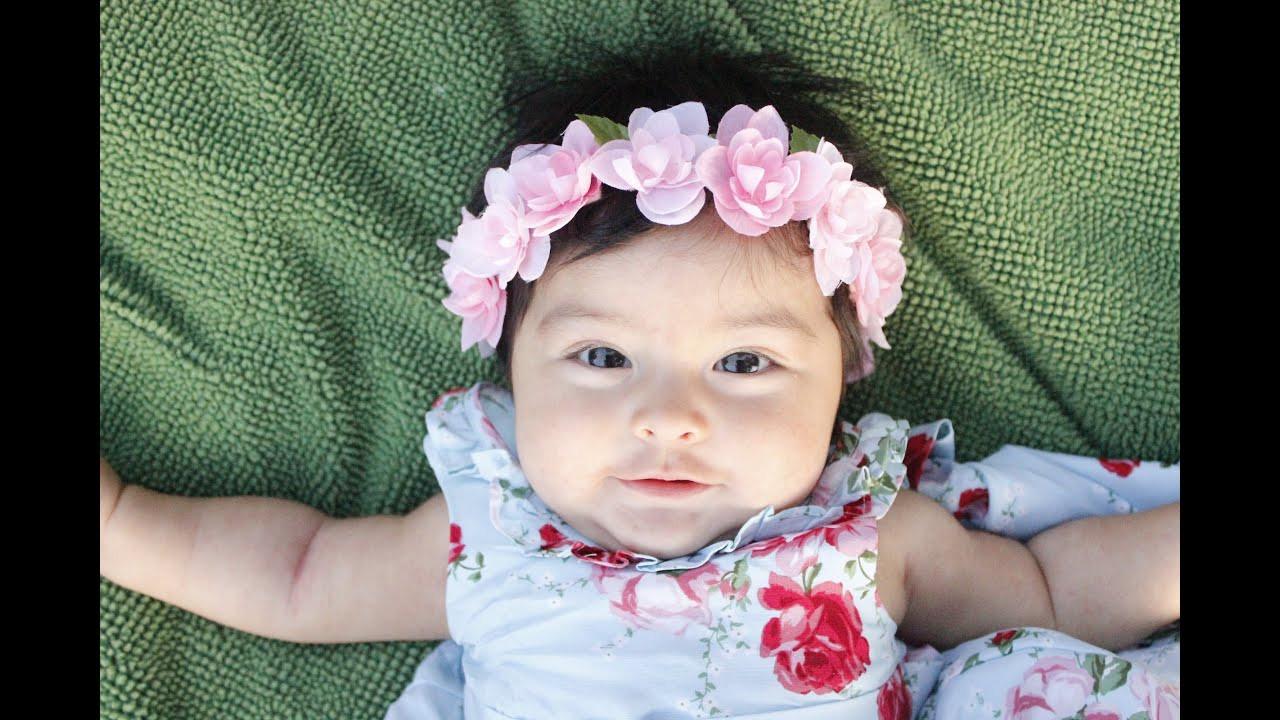 Best ideas about DIY Baby Girl Headbands . Save or Pin DIY Hydrangea Baby Headband Tutorial Leis Now.