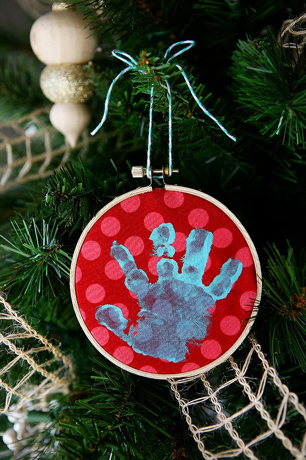 Best ideas about DIY Baby Handprint . Save or Pin Handmade Ornament DIY for Kids – Alliance Public Library Now.