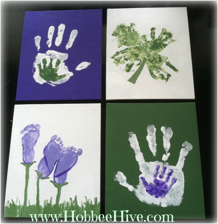 Best ideas about DIY Baby Handprint . Save or Pin Top 10 DIY Babyprint Keepsakes Top Inspired Now.