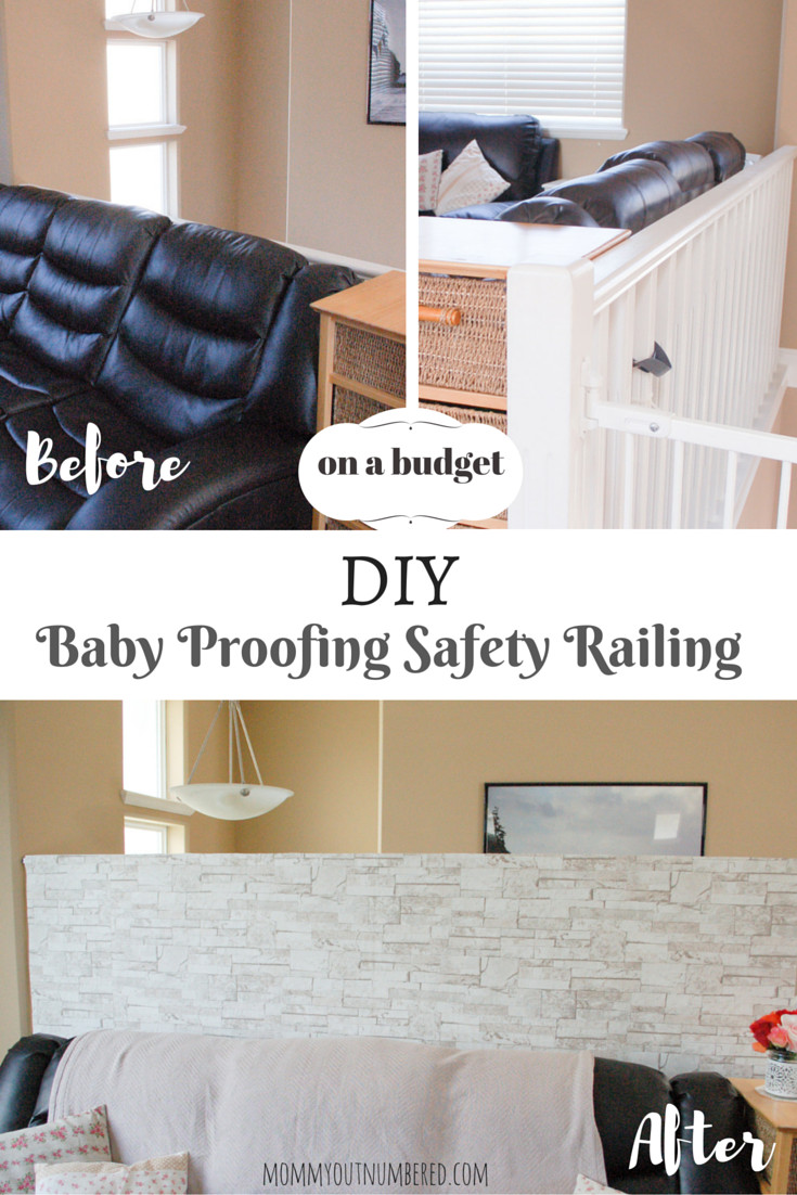 Best ideas about DIY Baby Proofing . Save or Pin DIY Baby Proofing Safety Railing To Prevent Falling Now.