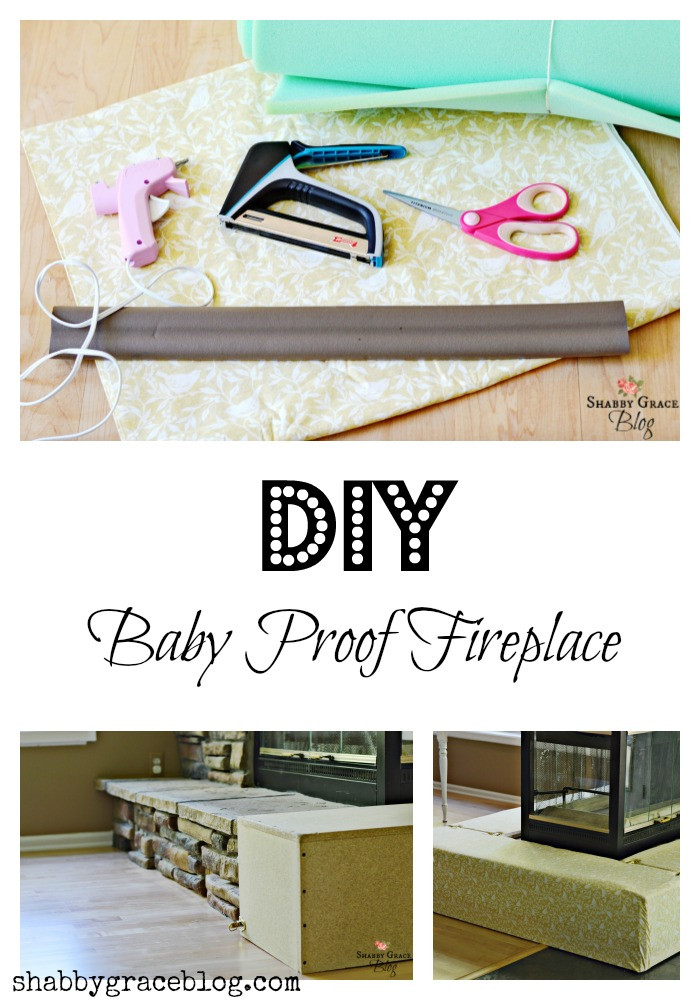 Best ideas about DIY Baby Proofing . Save or Pin DIY Baby Proof Fireplace Shabby Grace Now.
