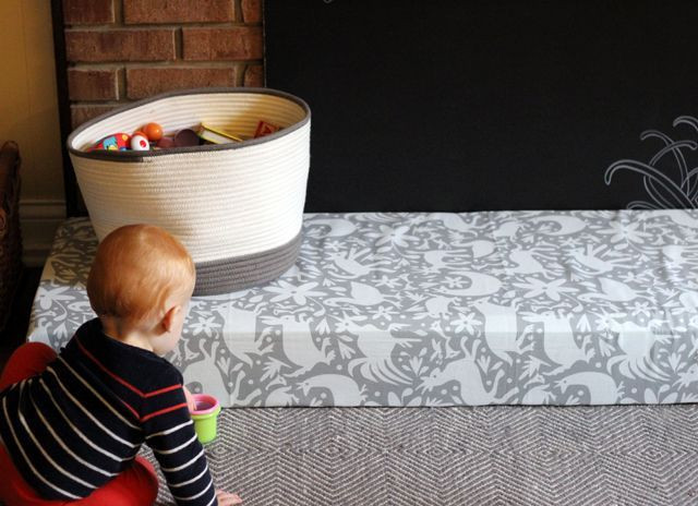 Best ideas about DIY Baby Proofing . Save or Pin diy padded hearth cover for baby proofing Now.