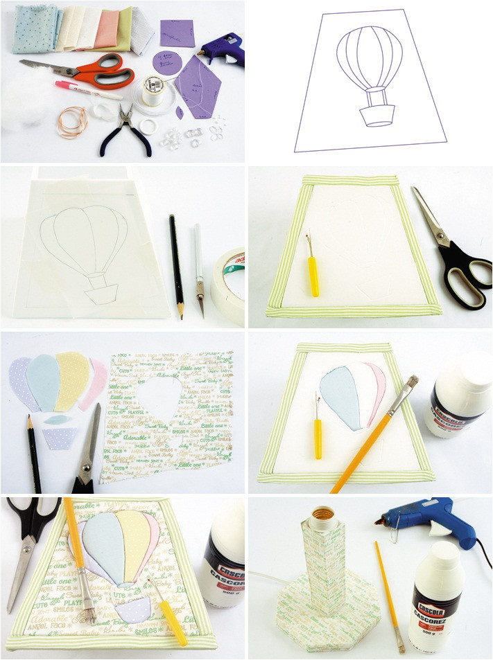 Best ideas about DIY Baby Room Decoration . Save or Pin 6 DIY baby room decor ideas Make hot air balloon themed Now.
