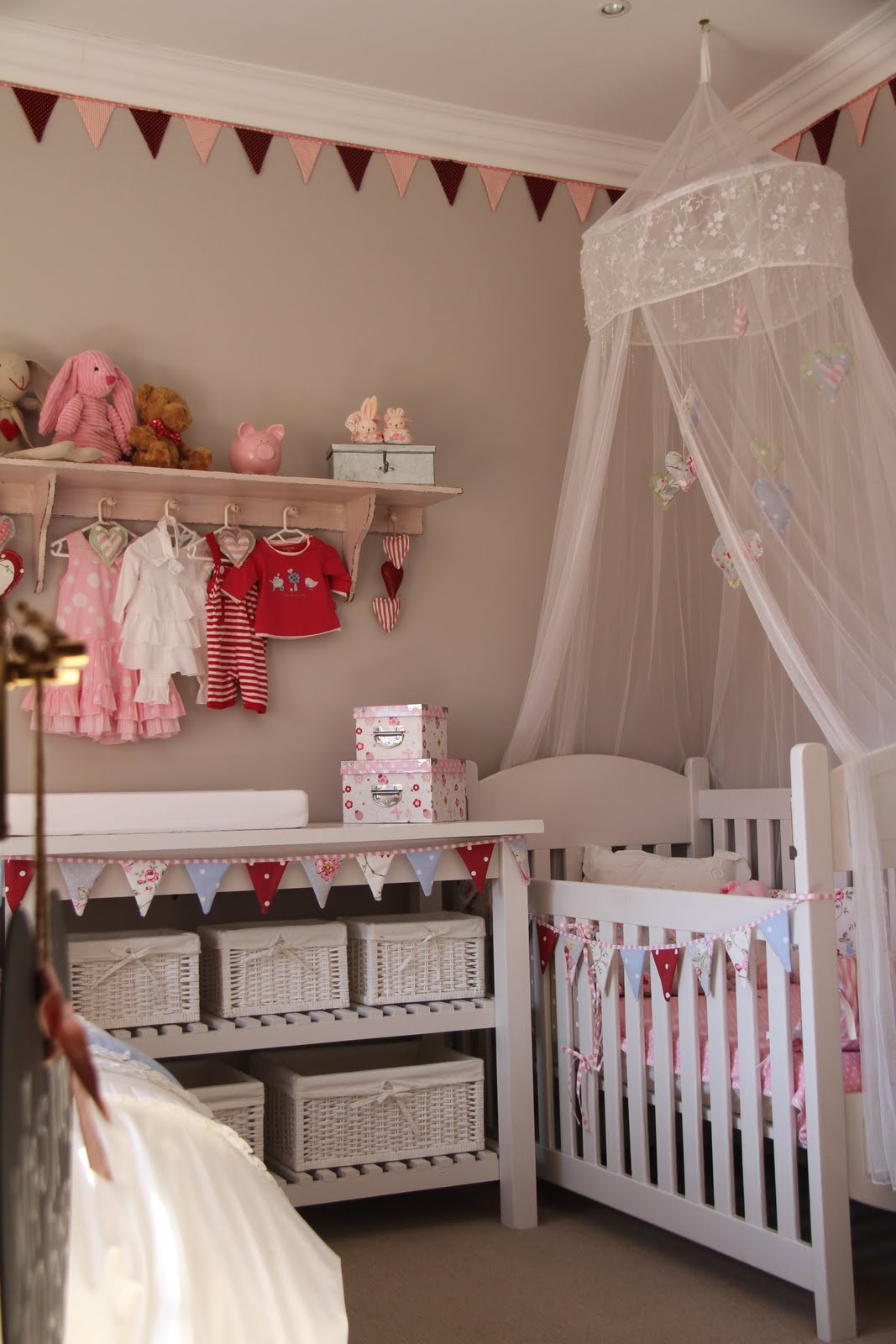 Best ideas about DIY Baby Rooms . Save or Pin I SPY PRETTY Our Baby Girl Mia s DIY Nursery Now.