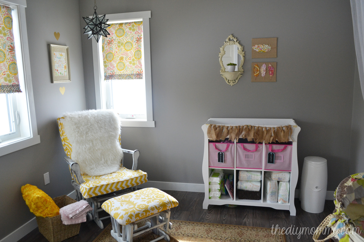 Best ideas about DIY Baby Rooms . Save or Pin Baby B's Soft Boho Nursery Now.