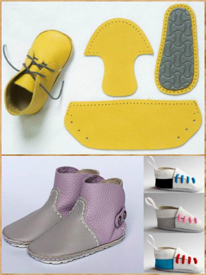 Best ideas about DIY Baby Shoes . Save or Pin 55 DIY Baby Shoes with Free Patterns and Tutorials DIY Now.
