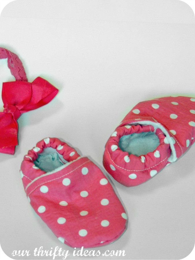 Best ideas about DIY Baby Shoes . Save or Pin DIY Baby Shoes Our Thrifty Ideas Now.