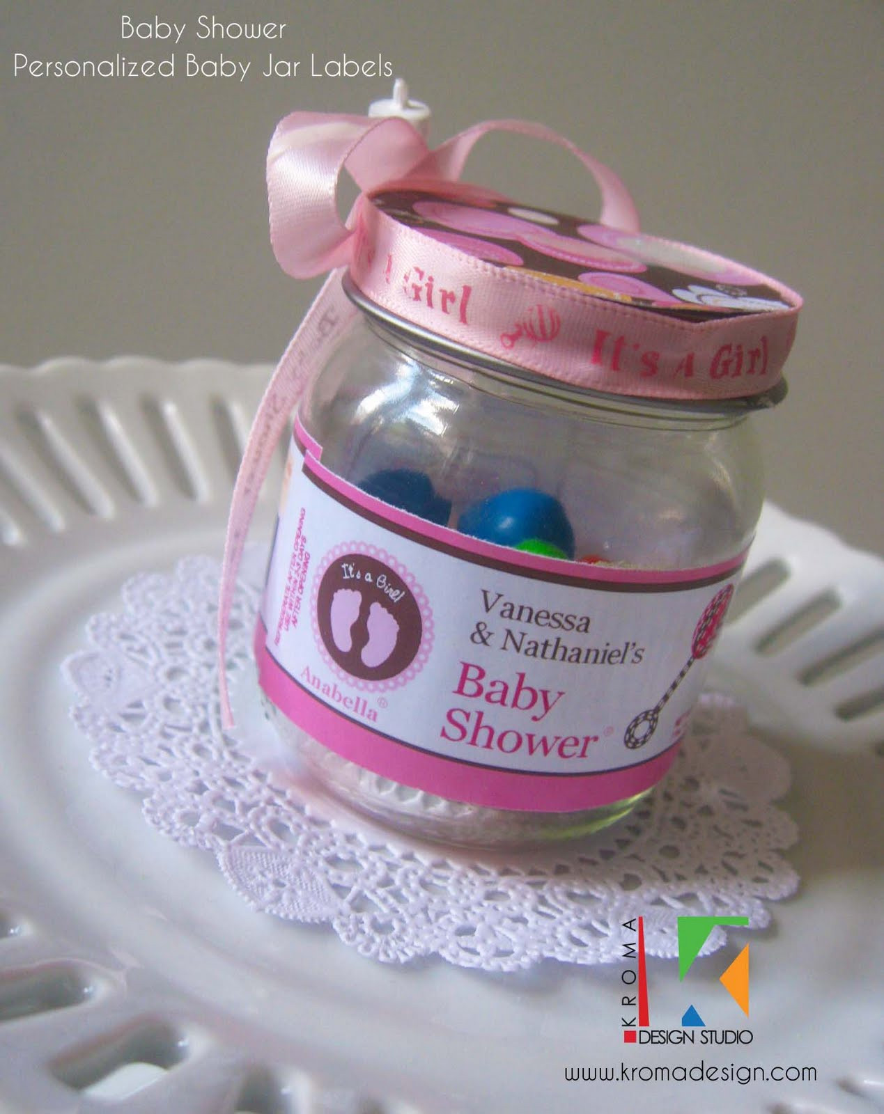 Best ideas about DIY Baby Shower Favors For Girl . Save or Pin Baby Showers DIY Printable Baby Jar Label Favors for Now.