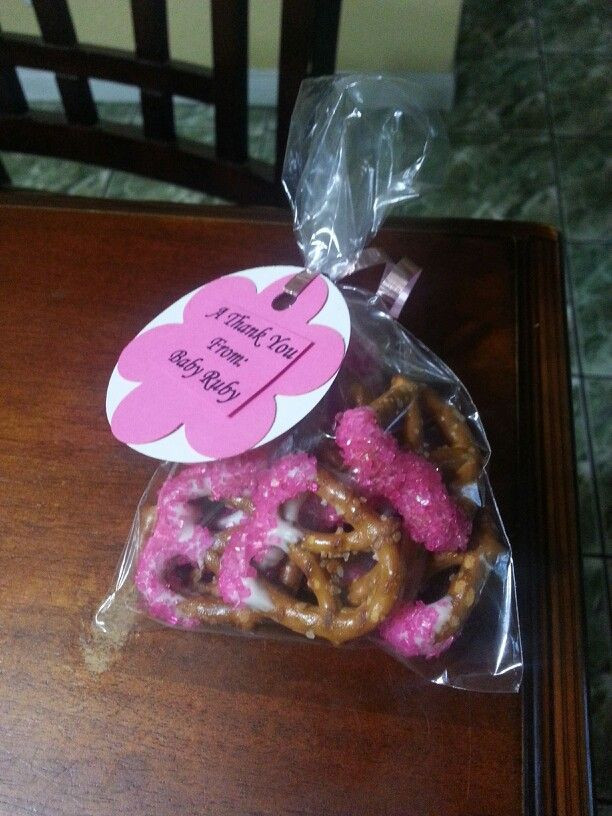 Best ideas about DIY Baby Shower Favors For Girl . Save or Pin Cute easy diy craft Babyshower Pink girl theme baby shower Now.