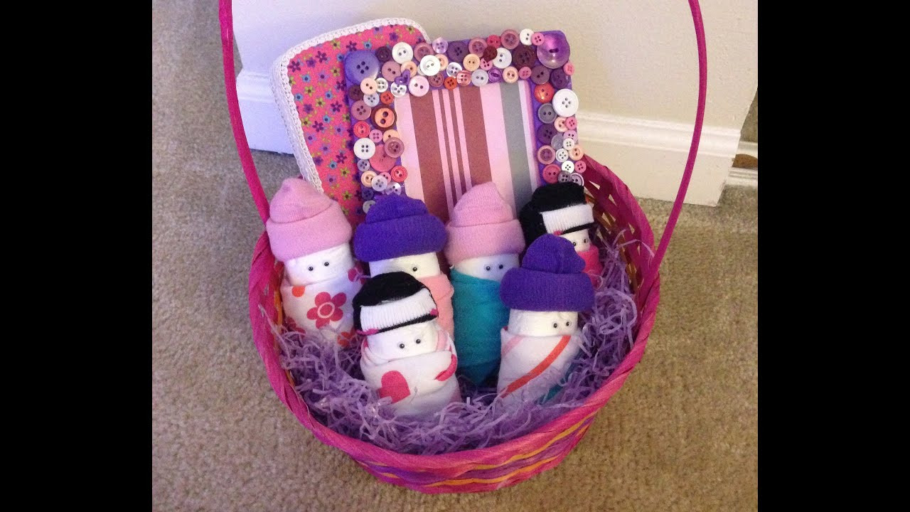 Best ideas about Diy Baby Shower Gift Basket Ideas . Save or Pin DIY Baby Shower Gift Basket Updated Now.