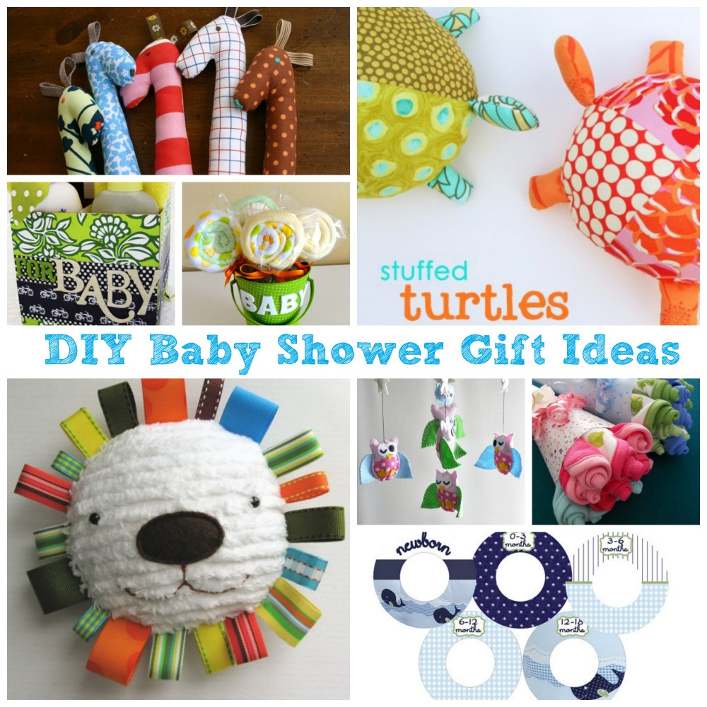 Best ideas about Diy Baby Shower Gift Ideas . Save or Pin Great DIY Baby Shower Gift Ideas – Surf and Sunshine Now.