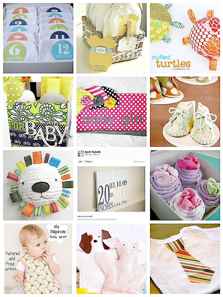 Best ideas about Diy Baby Shower Gift Ideas . Save or Pin 12 DIY Baby Shower Gift Ideas and My Hardest Pregnancy Now.