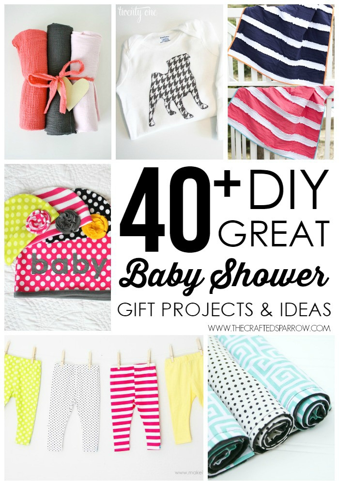 Best ideas about Diy Baby Shower Gift Ideas . Save or Pin 40 DIY Baby Shower Gift Ideas Now.