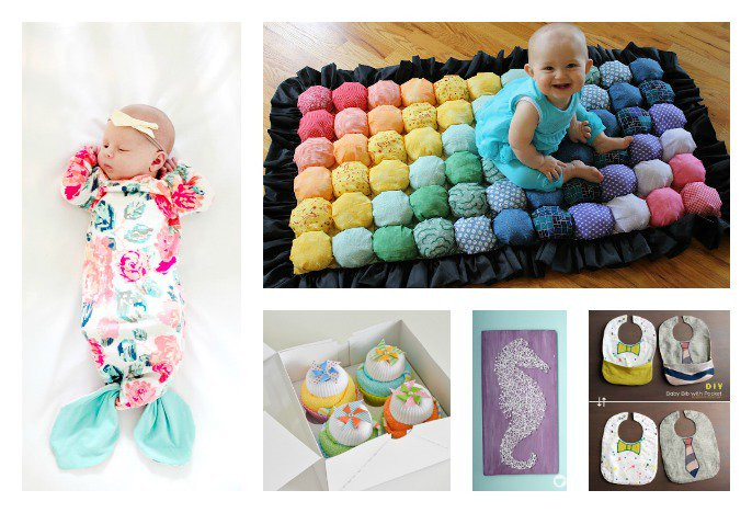 Best ideas about Diy Baby Shower Gift Ideas . Save or Pin 28 DIY Baby Shower Gift Ideas and Tutorials Now.