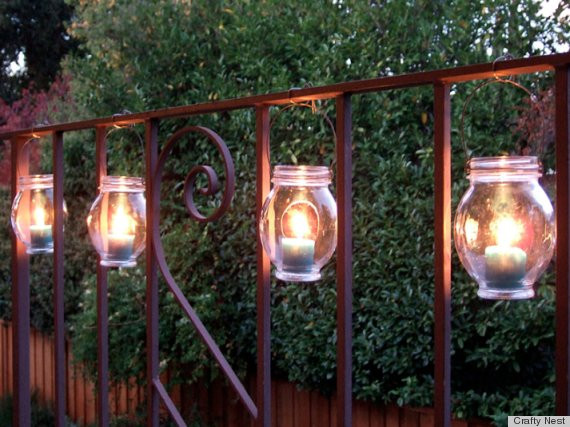 Best ideas about DIY Backyard Lighting . Save or Pin 7 DIY Outdoor Lighting Ideas To Illuminate Your Summer Now.