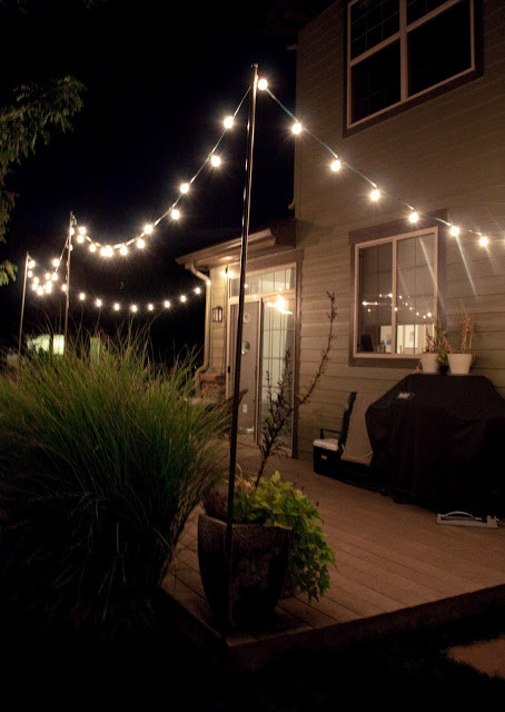 Best ideas about DIY Backyard Lighting . Save or Pin Bright July DIY Outdoor String Lights Now.