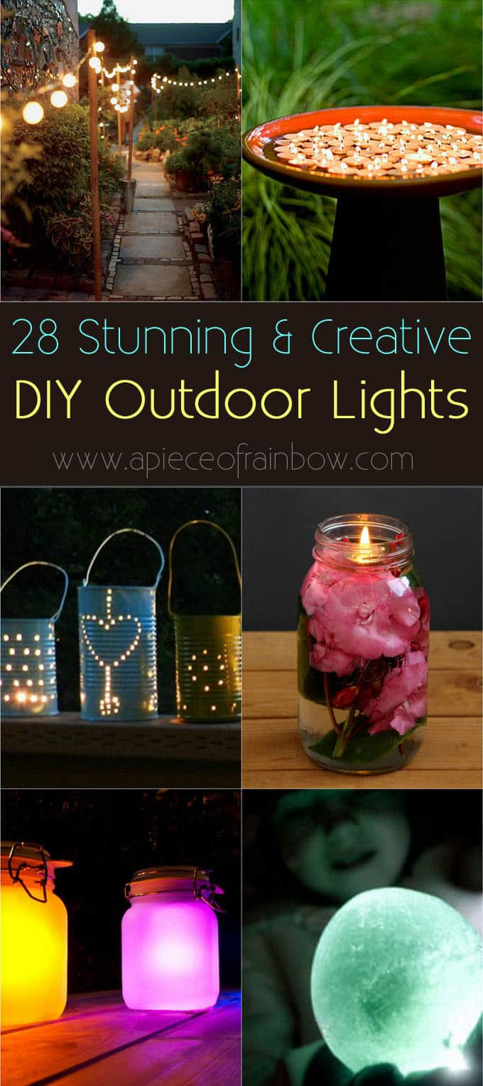 Best ideas about DIY Backyard Lighting . Save or Pin Home & Garden DIY Tutorials Creative Design How Tos Now.