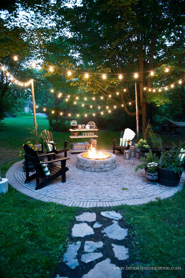 Best ideas about DIY Backyard Lighting . Save or Pin 20 Amazing Outdoor Lighting Ideas for Your Backyard Hative Now.