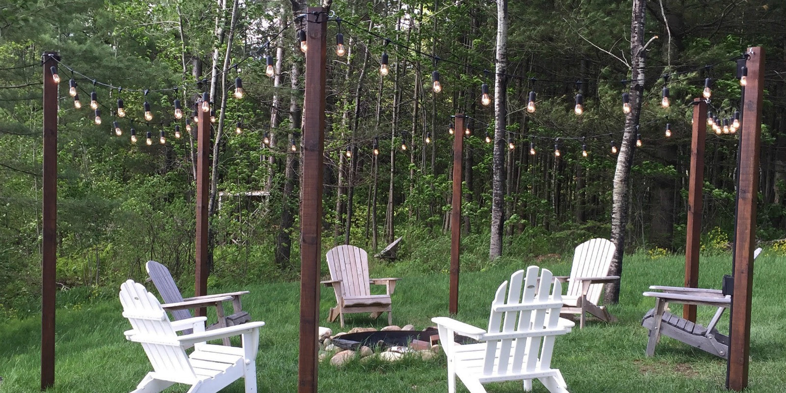Best ideas about DIY Backyard Lighting . Save or Pin Remodelaholic Now.
