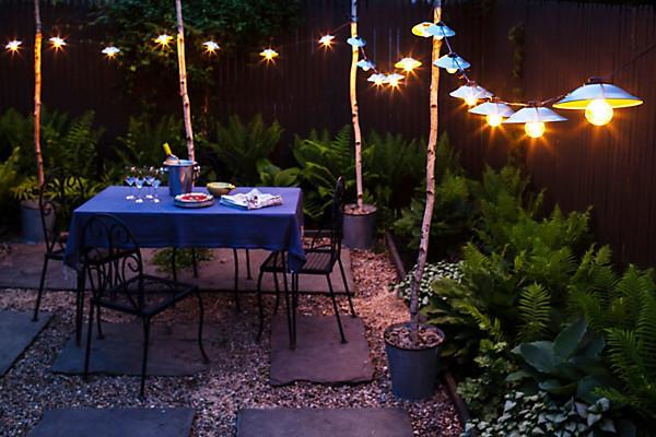 Best ideas about DIY Backyard Lighting . Save or Pin Garden Lights DIY — e Kings Lane Now.