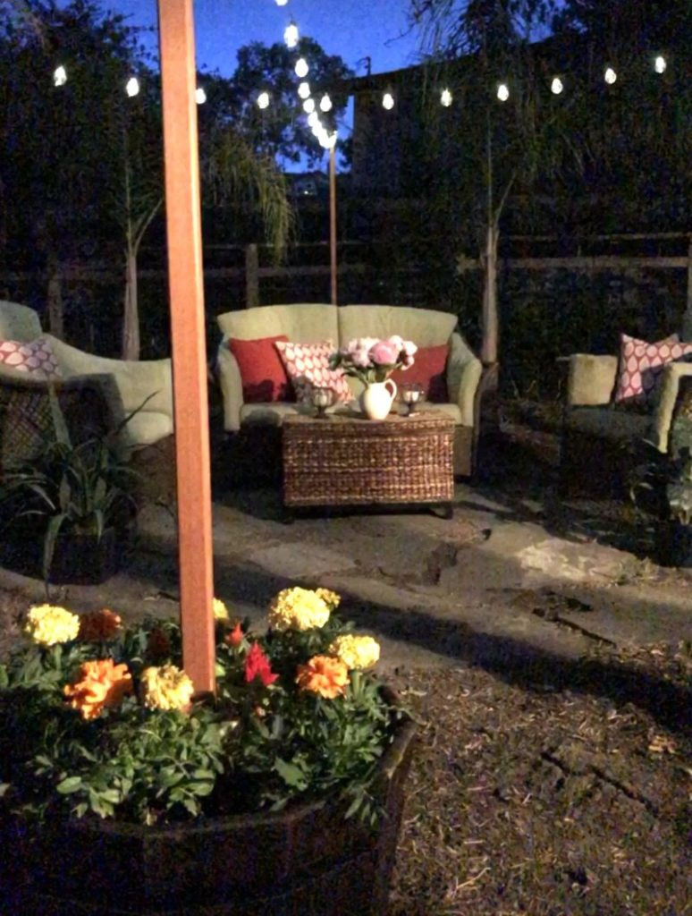 Best ideas about DIY Backyard Lighting . Save or Pin How to Hang Outdoor String Lights Video and Easy Tutorial Now.