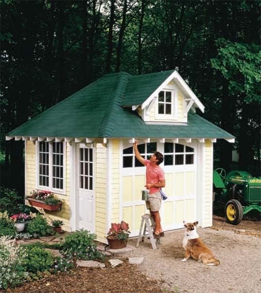 Best ideas about DIY Backyard Sheds . Save or Pin 108 DIY Shed Plans with Detailed Step by Step Tutorials Free Now.