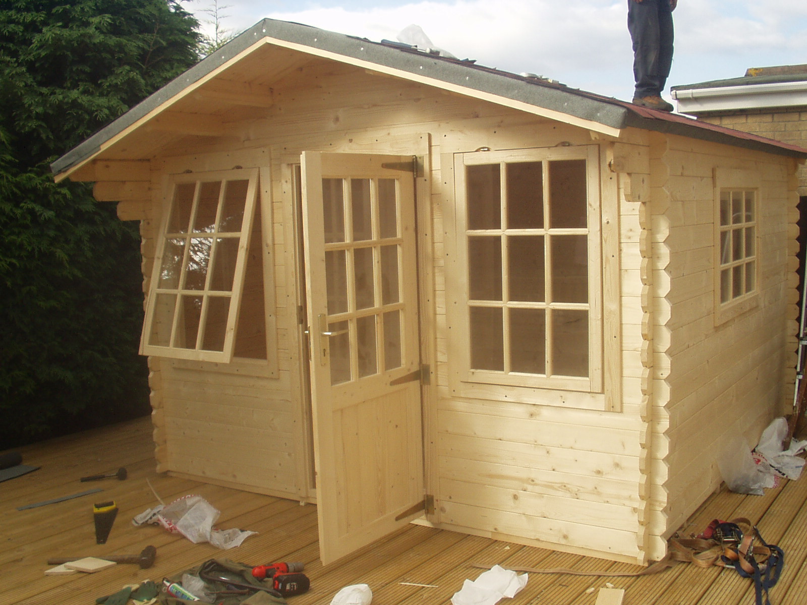 Best ideas about DIY Backyard Sheds . Save or Pin DIY Shed Plans – Cool Shed Deisgn Now.
