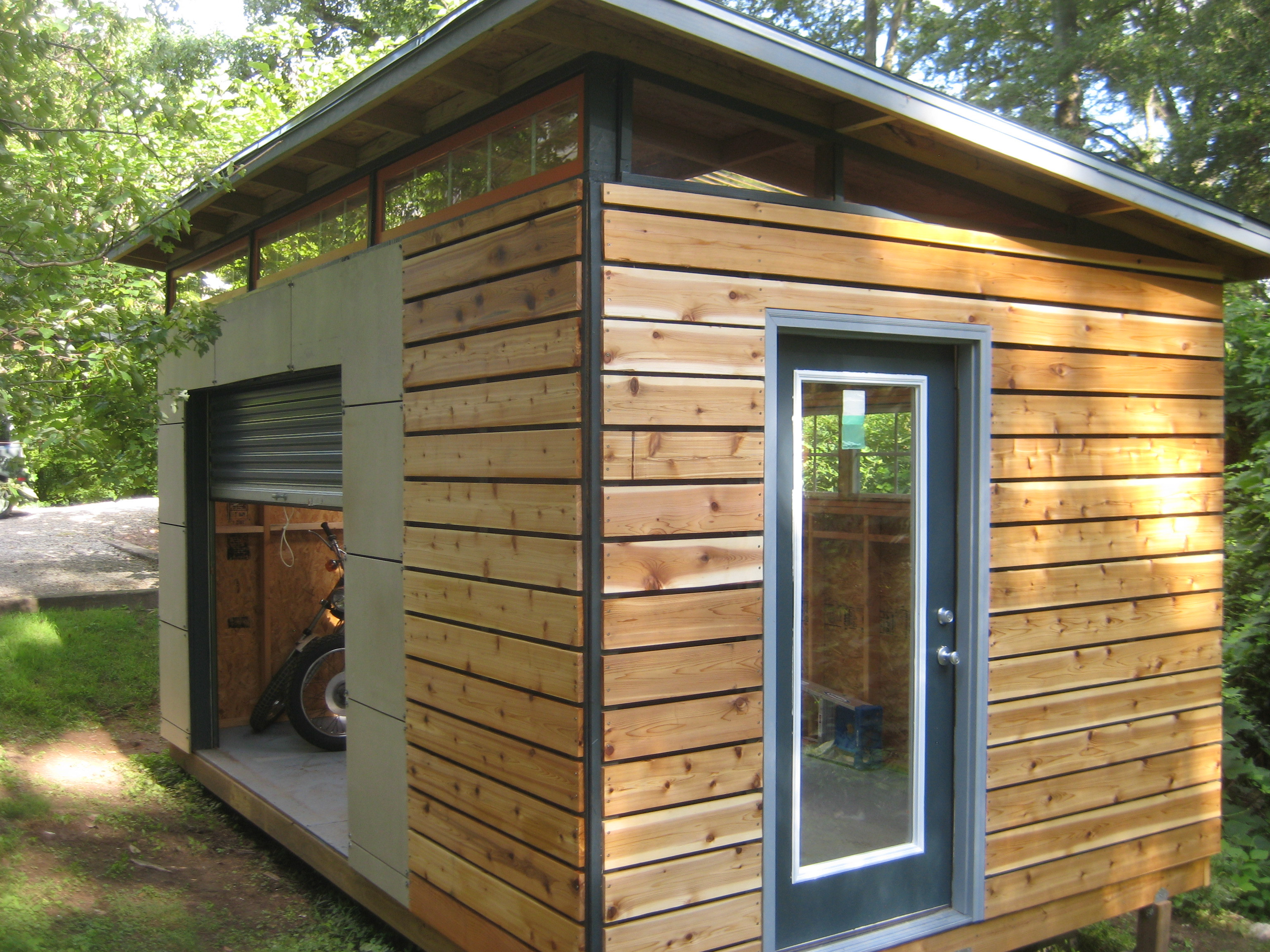 Best ideas about DIY Backyard Sheds . Save or Pin DIY Modern Shed project Now.