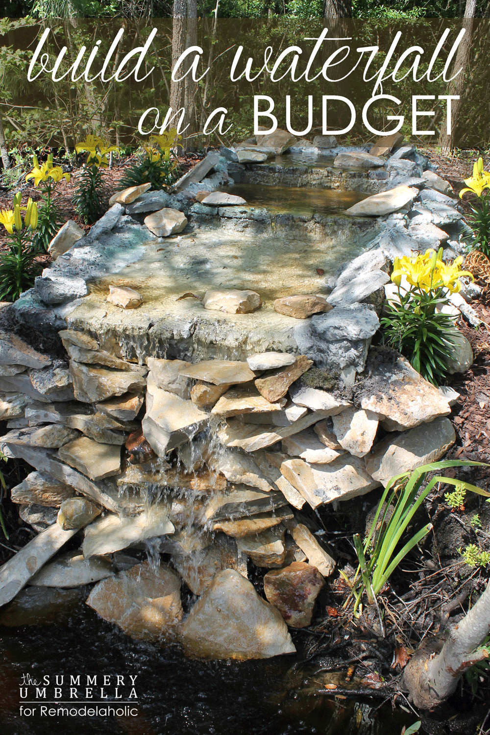 Best ideas about DIY Backyard Waterfall . Save or Pin 18 Best DIY Backyard Pond Ideas and Designs for 2019 Now.