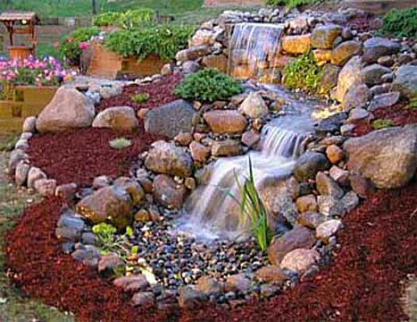Best ideas about DIY Backyard Waterfall . Save or Pin 25 DIY Water Features Will Bring Tranquility & Relaxation Now.