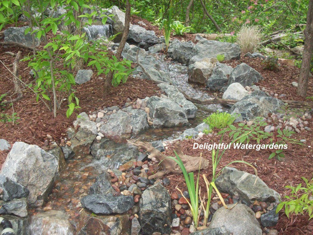 Best ideas about DIY Backyard Waterfall . Save or Pin Weekend DIY Backyard Water Feature Now.