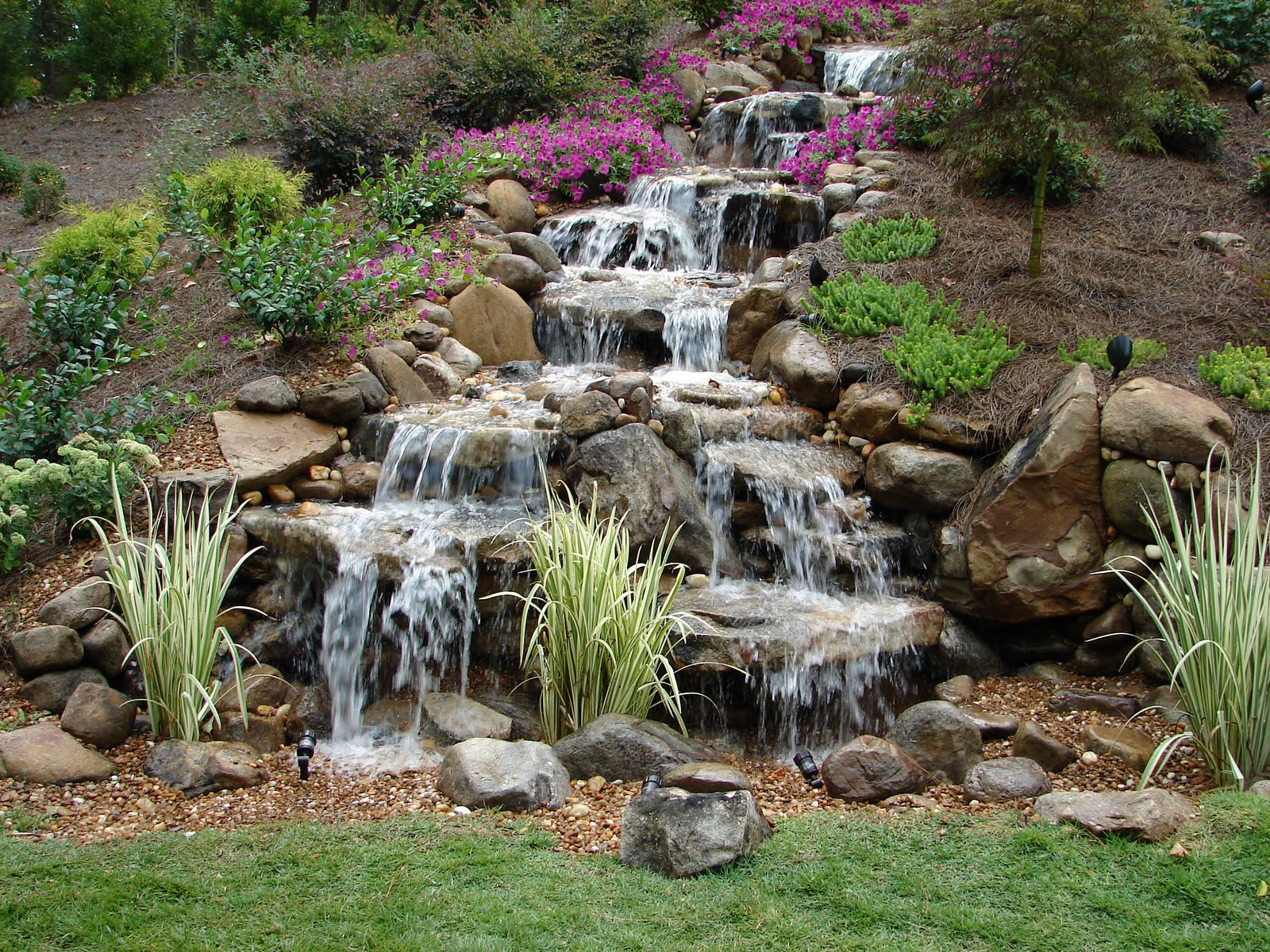Best ideas about DIY Backyard Waterfall . Save or Pin How to Build a DIY Waterfall Now.